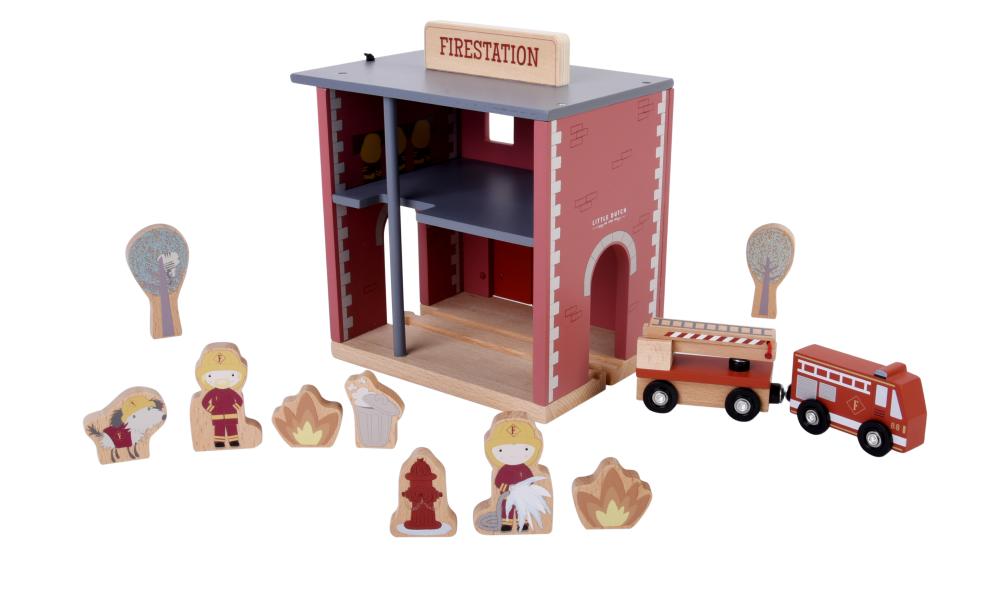 Little Dutch Požární stanice