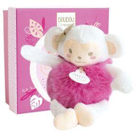 Douda et Compagnie minizoo Opička růžová 15cm