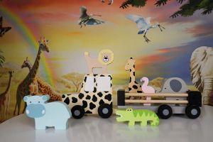 JaBaDaBaDo Dřevěný Jeep Safari