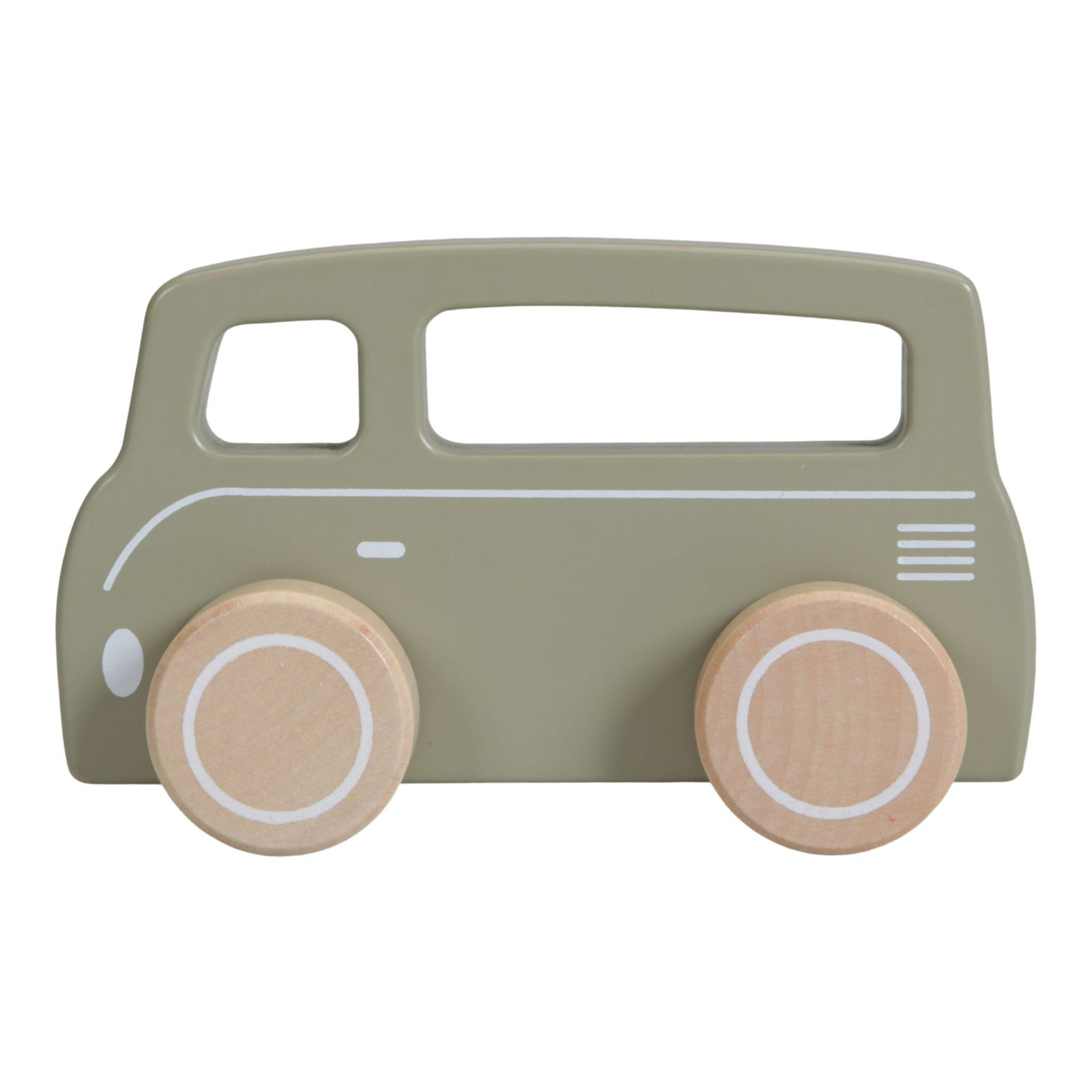 Little Dutch autíčko dřevěné Dodávka Olive