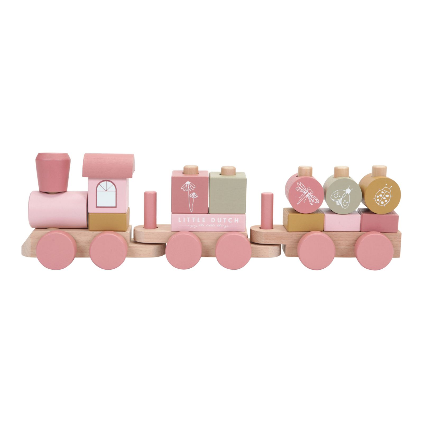 Little Dutch Vláček pink