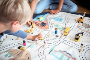 Play & Go vak na hračky LA Roadmap 140cm Play&Go