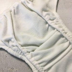 BabaBoo novorozenecké plenkové kalhotky AIO, WISTERIA PLANE Baba+Boo