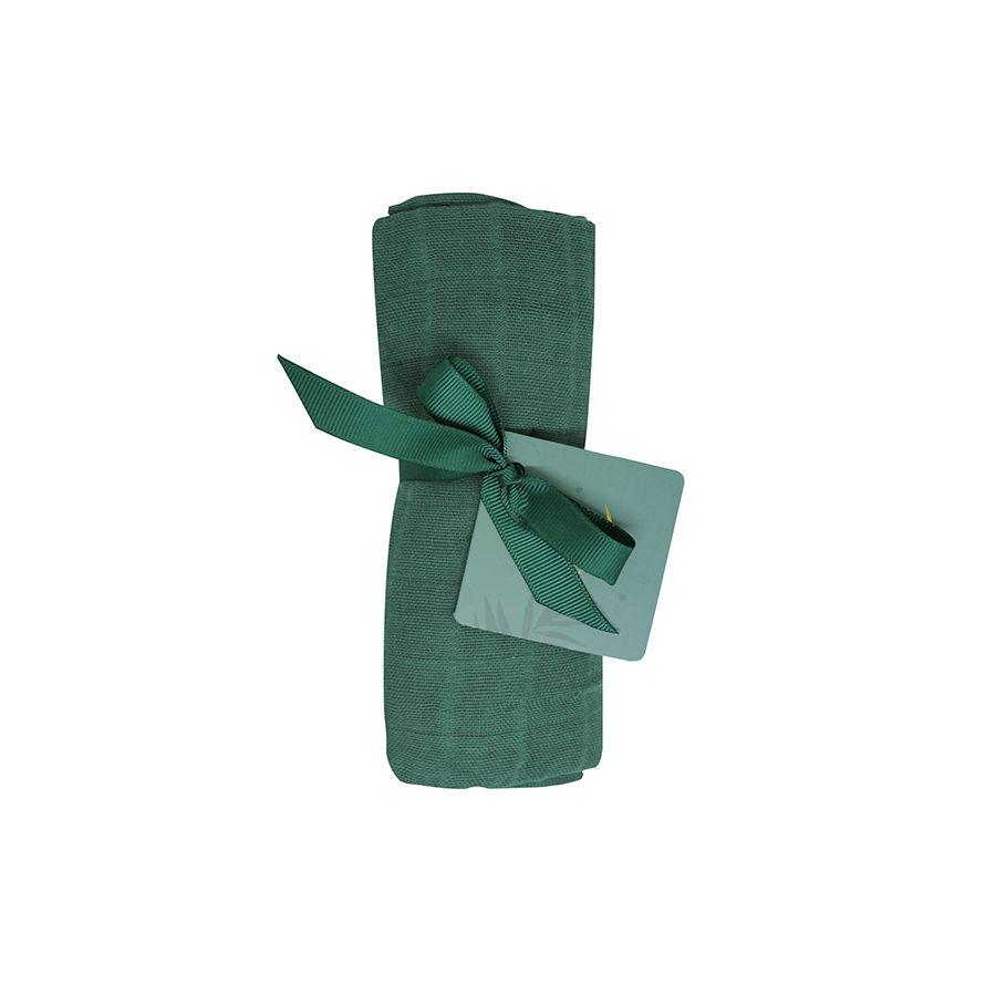 Tommy Lise mušelínová plena 70 x 70cm Mangrove Green 1ks