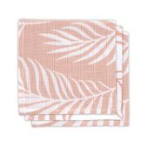 Jollein Ručníček 31x31cm (3ks) Nature pale pink
