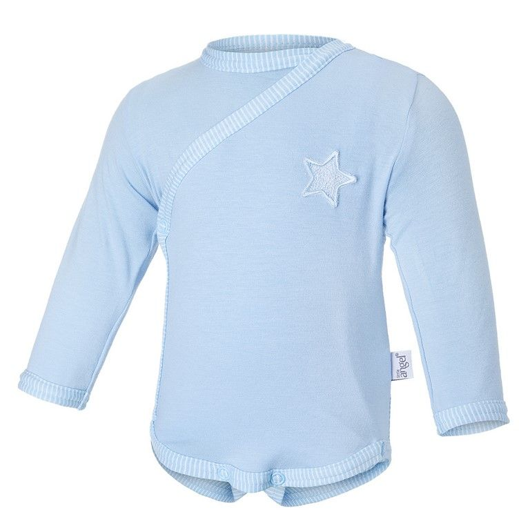 Little Angel Body tenké zavinovací DR Outlast® - sv.modrá/pruh sv.modrobílý