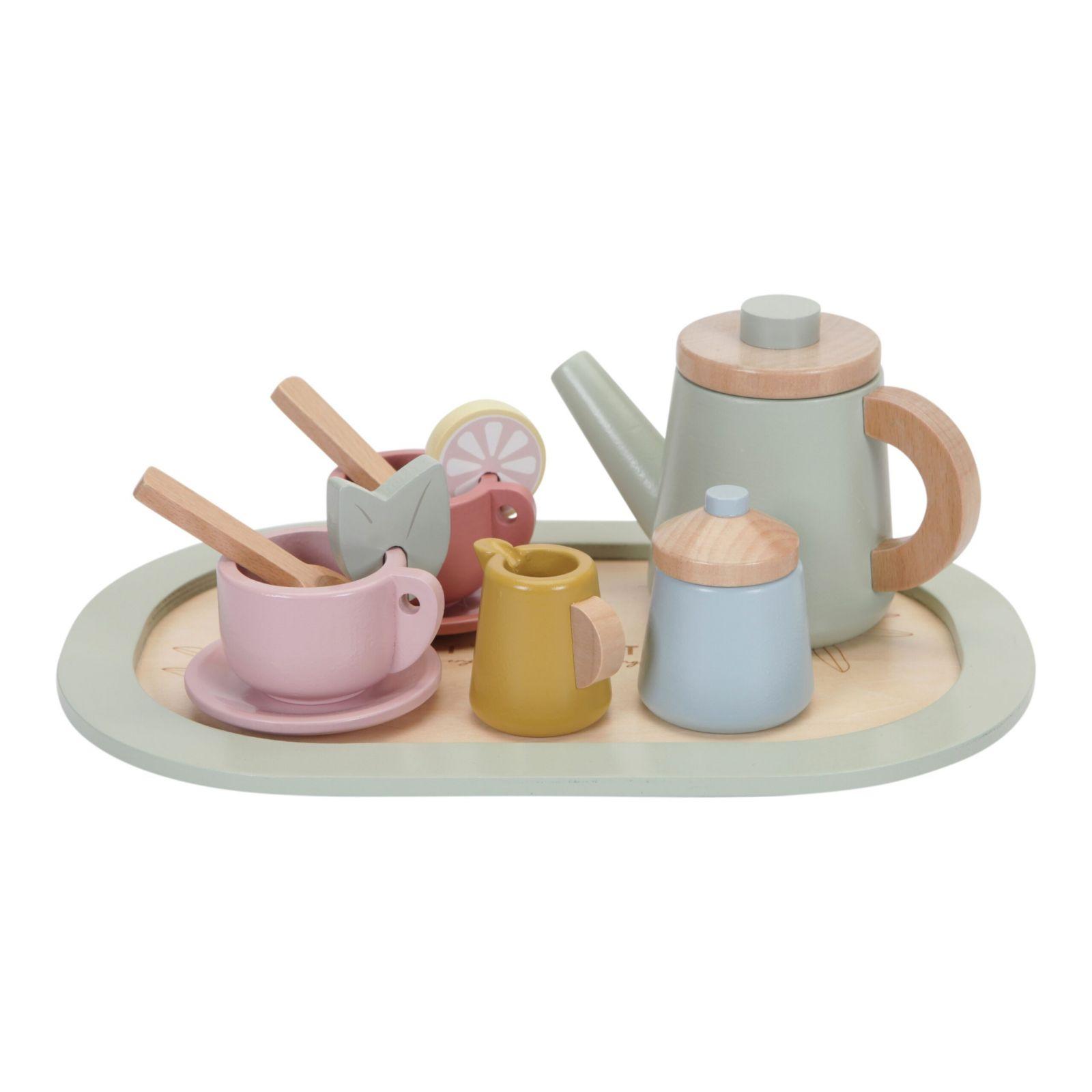 Little Dutch dřevěný čajový set