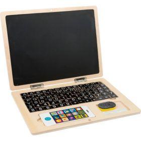 Small Foot Dřevěný notebook magnetický