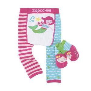 Zoocchini Set legíny a ponožky Mořská víla