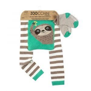 Zoocchini Set legíny a ponožky Lenochod