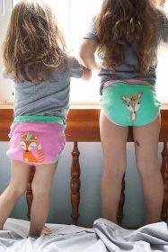Zoocchini Tréninkové kalhotky Kamarádi z lesa sada 3 kusy
