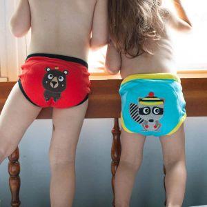 Zoocchini Tréninkové kalhotky Klučičí kamarádi z lesa sada 3 kusy