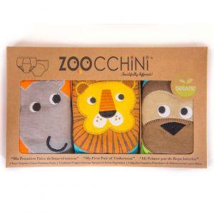 Zoocchini Tréninkové kalhotky Klučičí Safari sada 3 kusy