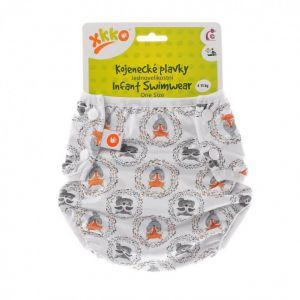 Jednovelikostní kojenecké plavky XKKO - Fox&Raccoon