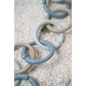 Little Dutch Spojovací kroužky řetěz BLUE
