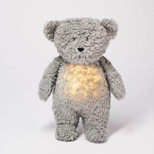 MOONIE šumící usínáček Medvěd Grey