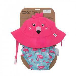 Zoocchini UV Set klobouček a plavky Plameňák 12 - 24 m