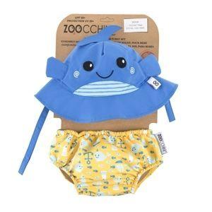 Zoocchini UV Set klobouček a plavky Velryba 12 - 24 m