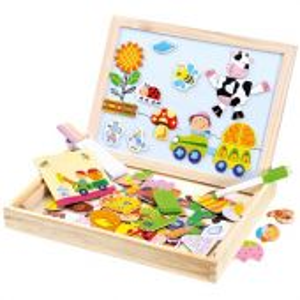 Bino Farma magn. tabulka s puzzlemi 102ks