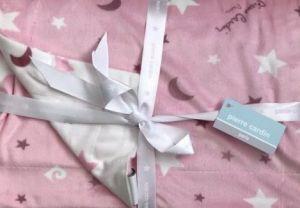 Pierre Cardin deka Minky 80x110 Moon Pink Rose