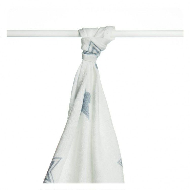 Bambusové pleny XKKO®BMB Silver Star 90x100cm - 1 ks Kikko