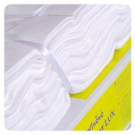 Bavlněné pleny KIKKO LUX 70 x 70 cm 10 ks, bílé