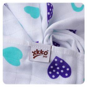 Kikko bambusové pleny Hearts&Wawes Lilac