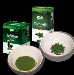 Chlorella Green Ways + poradenství
